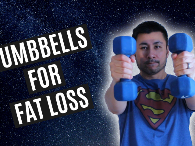 Using dumbbells for weight loss