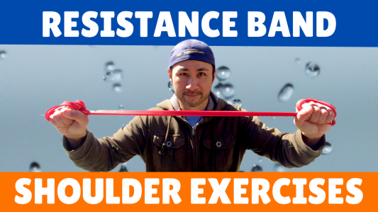 Resistance Band Shoulder Home Workout
