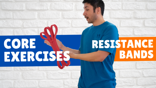 Resistance Band Core Exercises