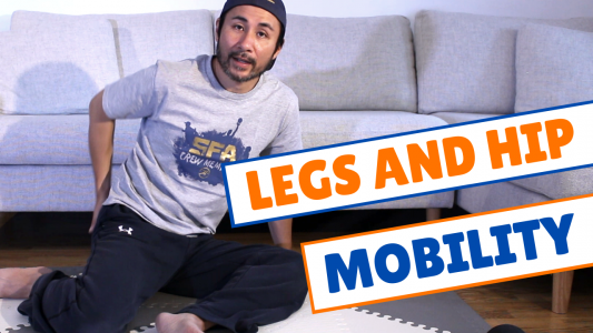 legs and hips mobility